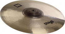 "STAGG 17"" Dual Hammered Exo Medium Thin Crash Cymbal - Dynamic overtones"