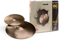 "STAGG B8 Bronze Cymbal Set-18"" Crash and 14"" Hi-Hat pair Pack"