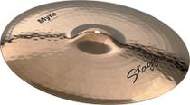 "STAGG 18"" Myra Rock Crash Cymbal - Bright Cutting Loud"