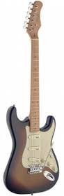 Stagg Vintage Style Electric Guitar Sunbrst Solid Alder Body Ses50M-Sb