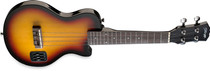 STAGG Sunburst Highgloss Solid Maple LP-Style Electric Ukulele