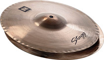 "STAGG 14"" Dual Hammered Bite Hi-Hat Cymbals Pair Hihat - Dynamic overtones"
