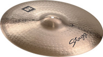 "STAGG 20"" Dual Hammered Crash Ride Cymbal - Dynamic overtones"
