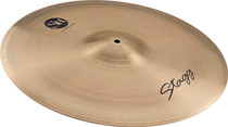 "STAGG 22"" Sh Medium Ride Cymbal - Hand-Hammered - Cast B20 Bronze"