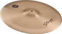 "STAGG 22"" Sh Medium Ride Cymbal - Hand-Hammered - Cast B20 Bronze"