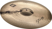 "STAGG 20"" Dual Hammered Medium Ride Cymbal - Dynamic overtones"