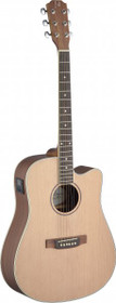 James Nelligan Asyla Acoustic-Electric Steel String Guitar W/ Solid Spruce Top