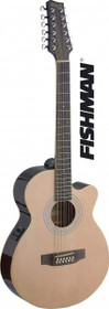 Stagg Mini-Jumbo 12 String Acoustic-Electric Cutaway Guitar Fishman Preamp