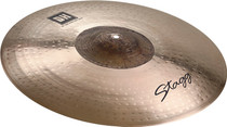 "STAGG 21"" Dual Hammered Exo Extra Dry Ride Cymbal - Dynamic overtones"