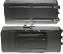 Stagg Extra Deep Lightweight Keyboard Case W/ Wheels 56X21X7In Ktc-145 Xd