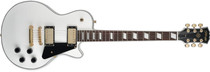 STAGG Classic Rock LP White Electric Guitar with 2x Humbucker Pickups
