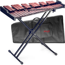 STAGG 37 Key 3 octave Xylophone Marimba set w/Mallets+Stand+Padded Black Gigbag Padouk