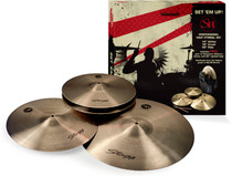 STAGG SH Series Regular Finish Matched Cymbal Set with Cymbal Bag
