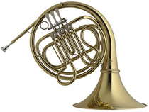 Stagg French Horn 3 Rotary Valves With Case Gold Lacquer Ws-Hr245