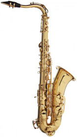 Stagg Bb Tenor Saxophone W Abs Case W/High F# Key Gold Lacquer Sax Ws-Ts215