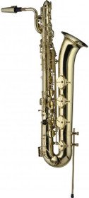 Levante Eb Baritone Saxophone In Flight Case W/A Key W/High F# Key Sax Lv-Bs4105