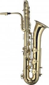 Levante Bbb Bass Saxophone With Case W/B-Flat Key Auxiliary Key A High F Key Sax