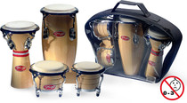 STAGG Natural Mini Latin & African Percussion Package
