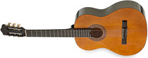 STAGG Left-handed 4/4 size Classical Brown Nylon String Guitar Spruce Top Lefty