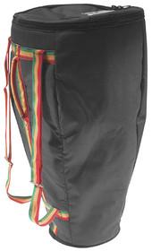 "STAGG Reinforced Nylon Black Bag For 13"" Conga plus High Density Foam Layer"