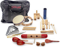STAGG Junior Percussion Kit With Easy to Carry Bag