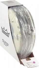 """REMO 14"""" CS Batter Coated Snare Drum Head Skin Bulk Pack-10/Box bottom black dot"""