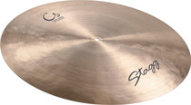 "STAGG 20"" Classic Turkish Style Flat Ride Cymbal superb low frequencies."