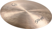 "STAGG 22"" Classic Turkish Style Flat Ride Cymbal fast response"
