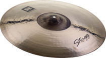 "STAGG 22"" Dual Hammered Exo Heavy Ride Cymbal - Dynamic overtones"