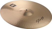 "STAGG 22"" Dual Hammered Rock Ride Cymbal - Dynamic overtones"