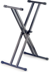 STAGG 4.2kg 5 Positions Dual X Keyboard Stand with Safety Lockpin
