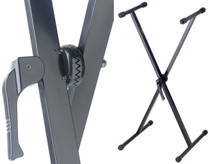 STAGG 345 Kg Black X Style Keyboard Stand With Adjustable Height