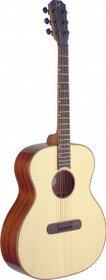 Lismore Steel String Acoustic Guitar Solid Spruce Top Auditorium Body Full Size
