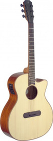Lismore Series Acoustic-Electric Auditorium Guitar Cutaway W/ Solid Spruce Top