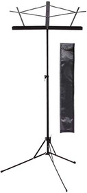 Stagg Lyra collapsible 2 Sections Sheet Music Stand-Orchestral Black w Bag