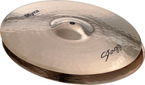 "STAGG 13"" Myra Rock Hi-Hat Cymbals Pair Hihat - Bright Cutting Loud"