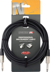 "Stagg Rean Neutrik Deluxe 10M/33' Instrument Cable 1/4"" Guitar Keyboard Bass"