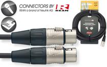 Stagg Rean Neutrik Deluxe 15M/50' Mike Mic Microphone Cable XLR female-XLR male