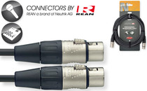 Stagg Rean Neutrik Deluxe 6M/20' Mike Mic Microphone Cable XLR female-XLR male