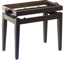 Stagg Rosewood Piano Bench W/O Top W Adjustable Height - Top Sold Separately