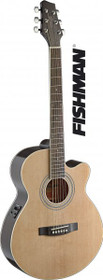 Mini-Jumbo Acoustic-Electric Cutaway Concert Guitar W Fishman Preamp Natural