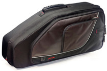 STAGG Lightweight Deluxe Wear Proof Nylon Soft Case for Alto Saxophone Sax