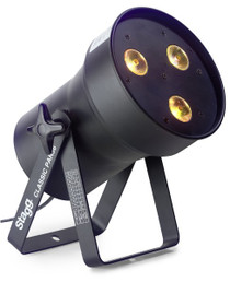 Stagg Classic LED Spot w 3 Extremely Bright 8W RGBW 4 In 1 LED's Sli Clpa361-1Bk