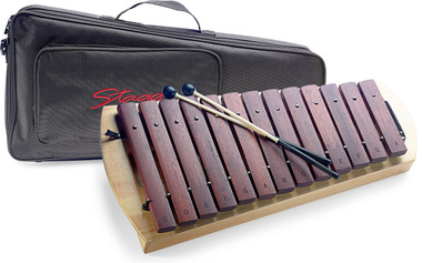 xylophone with mallets and gig bag