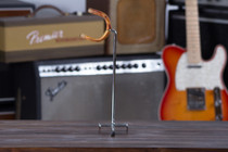 Adam Guitar Pegboard or Slatwall Guitar Hanger Angled Right Chrome