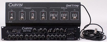Carvin Quad-X 4 channel tube preamp with footswitch
