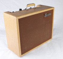 "1961 Maestro by Gibson Deluxe Reverb Echo GA-2RT 1x12"" Tube Combo Guitar Amplifier Tweed"