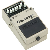 Boss GE-7 Equalizer Graphic 7 Band EQ Guitar Effects Pedal