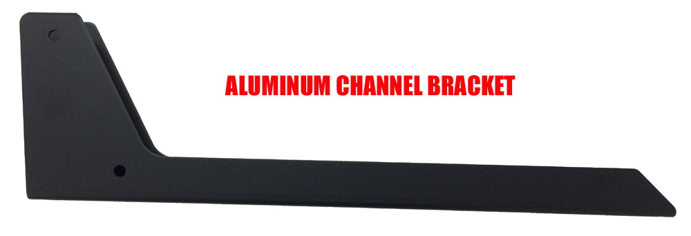 Cover Valet Aluminum Channel Bracket