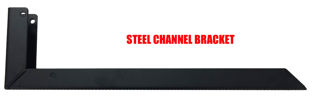 Cover Valet Steel Channel Bracket